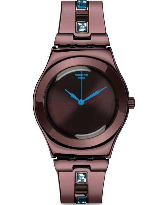 Swatch Women's Irony Brown Swiss Quartz Watch 32mm