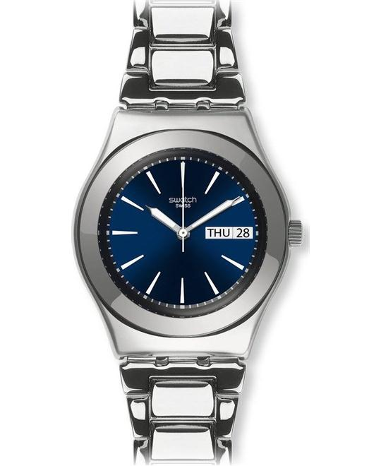 Swatch Women's Irony Swiss Quartz Watch with Blue 31mm