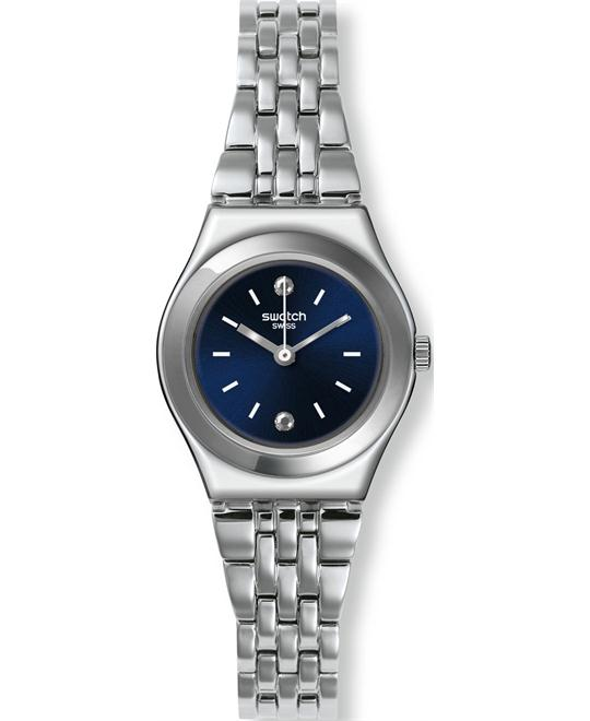 Swatch Women's Irony Swiss Watch with Blue 25mm