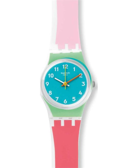 Swatch Women's Plastic and Silicone Automatic Watch 25mm