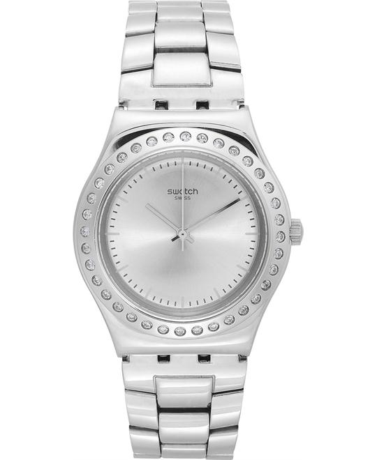 Swatch Women's Swiss Pure Powder Watch 33mm