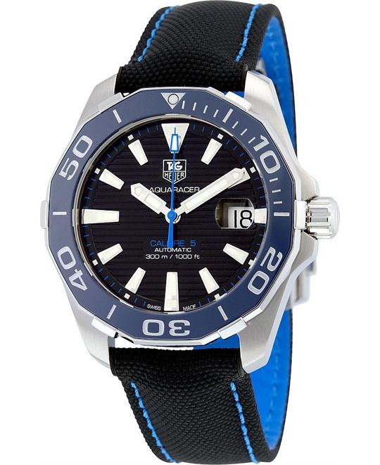 TAG HEUER Aquaracer Automatic Black Watch 41mm