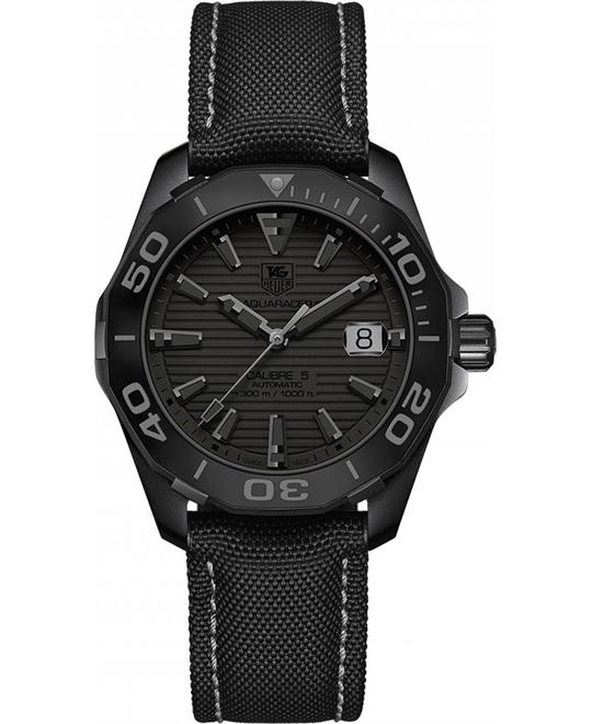 TAG HEUER Aquaracer Black Dial Automatic Men's Watch 41mm