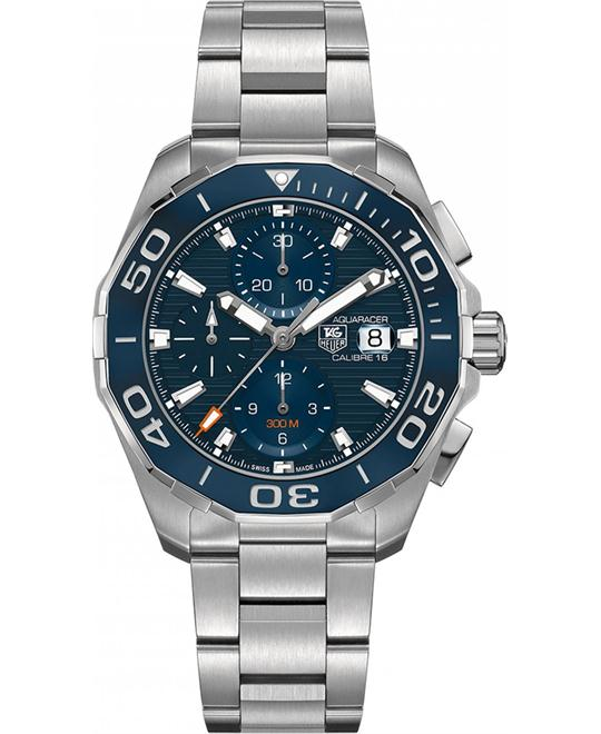TAG HEUER Aquaracer Blue Dial Automatic Watch 43mm