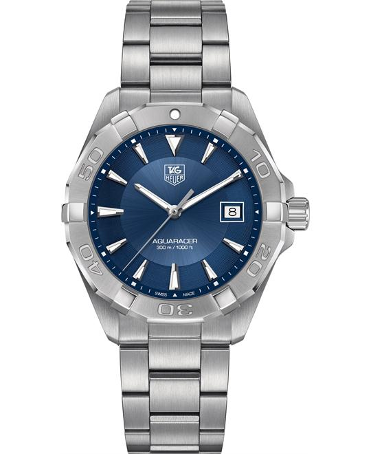 TAG HEUER Aquaracer Blue Sunray Watch 40mm