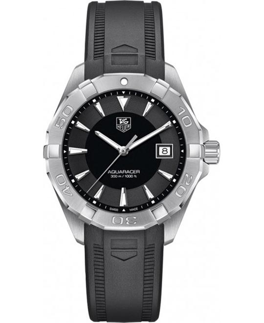 TAG Heuer WAY1110.FT8021 Aquaracer 300M Rubber 40.5mm