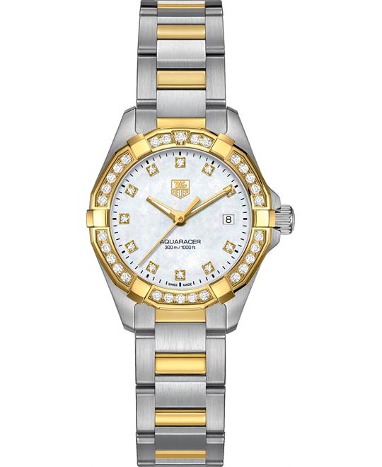 TAG Heuer WAY1453.BD0922 Aquaracer Gold 27mm