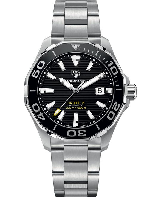 Tag Heuer WAY201A.BA0927 Aquaracer Watch 43mm