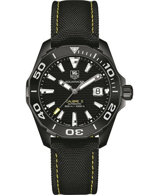 TAG HEUER Aquaracer WAY211A.FC6362 Textile Watch 41mm