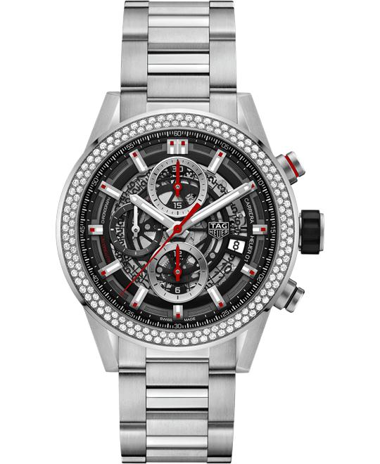 TAG HEUER CAR201P.BA0766 CARRERA  CALIBRE HEUER 01 43MM