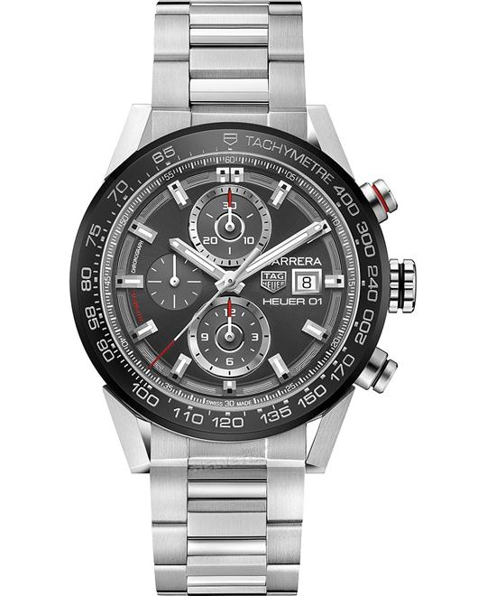 TAG HEUER CAR201W.BA0714 CARRERA Calibre Auto 43mm