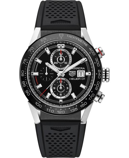 TAG HEUER CAR201Z.FT6046 CARRERA Calibre Auto 43mm