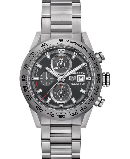 TAG HEUER CAR208Z.BF0719 Carrera Auto Titanium 43mm