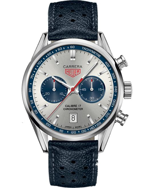 TAG Heuer Carrera Calibre 17 Automatic Chronograph Watch 41mm