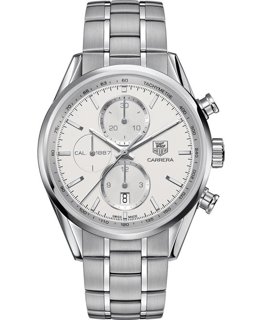 TAG HEUER CARRERA Calibre 1887 CAR2111.BA0724 Watch 41 mm