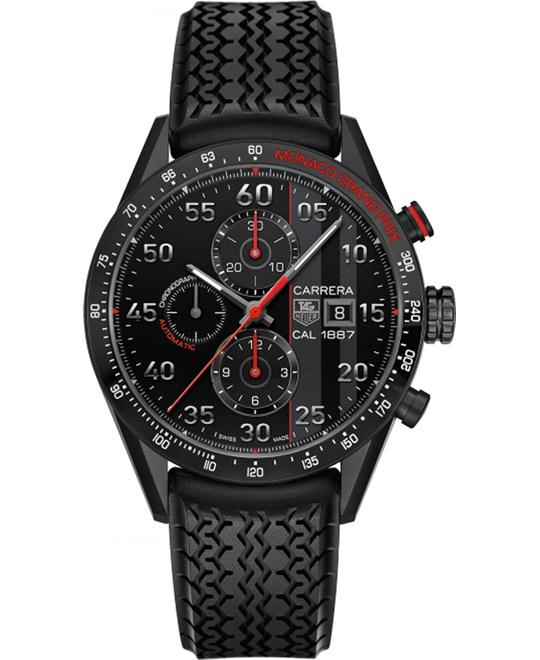 TAG HEUER CARRERA CAR2A83.FT6033 CALIBRE 1887 MONACO 43MM