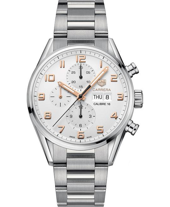 TAG HEUER Carrera Chronograph Watch 43mm