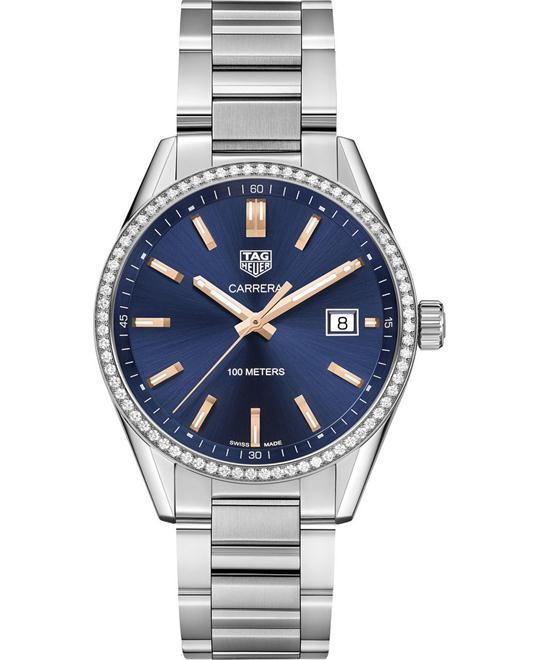 Tag Heuer Carrera WAR1114.BA0601 Ladies Watch 39mm