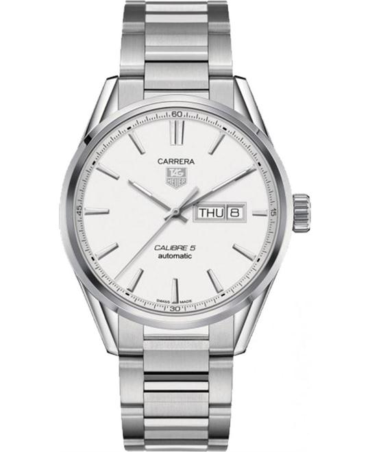 TAG HEUER CARRERA WAR201BBA0723 CALIBRE 5 WATCH 41MM