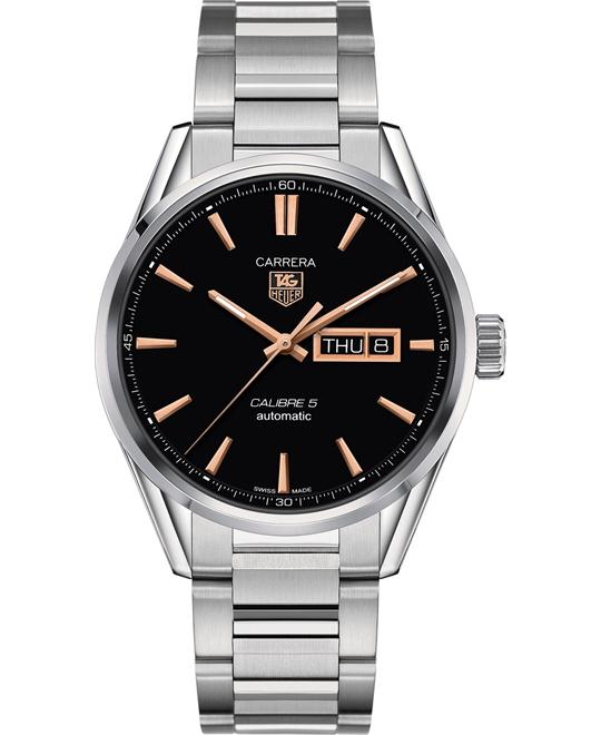 TAG Heuer WAR201C.BA0723 Carrera Calibre 5 Watch 41mm