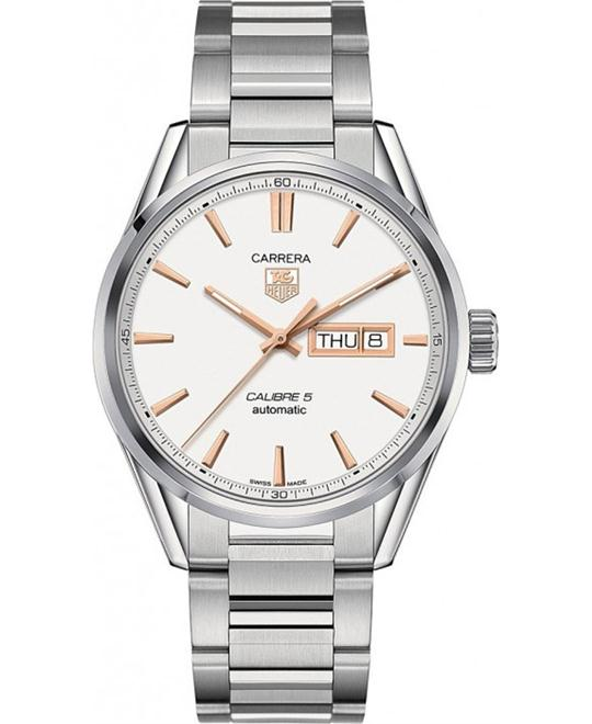 TAG HEUER CARRERA WAR201D.BA0723 CALIBRE 5 WATCH 41 MM
