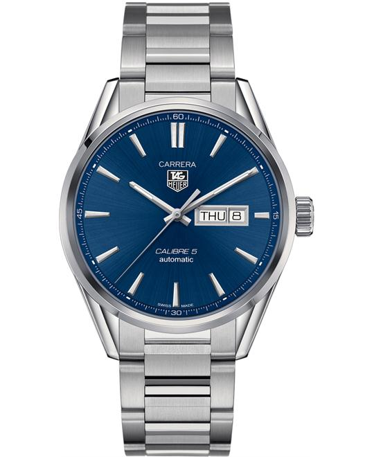TAG HEUER CARRERA WAR201E.BA0723 CALIBRE 5 WATCH 41MM