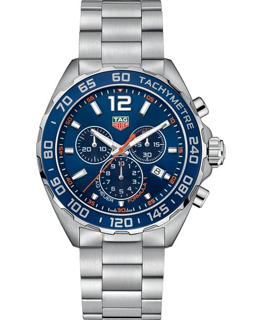 Tag Heuer CAZ1014.BA0842 Formula 1 Chrono Watch 43mm
