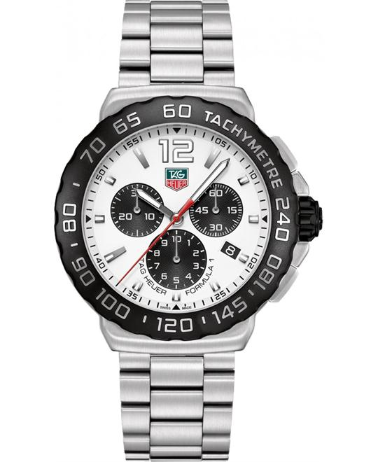 TAG HEUER Formula 1 CAU1111.BA0858 Chronograph Watch 42mm