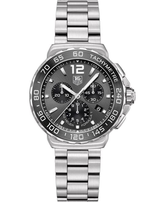 TAG HEUER Formula 1 CAU1115.BA0858 Chronograph Watch 42mm