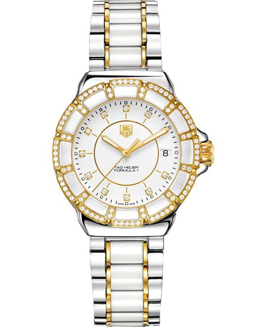 TAG HEUER Formula 1 Diamond WAH1221.BB0865 Ladies Watch 36mm