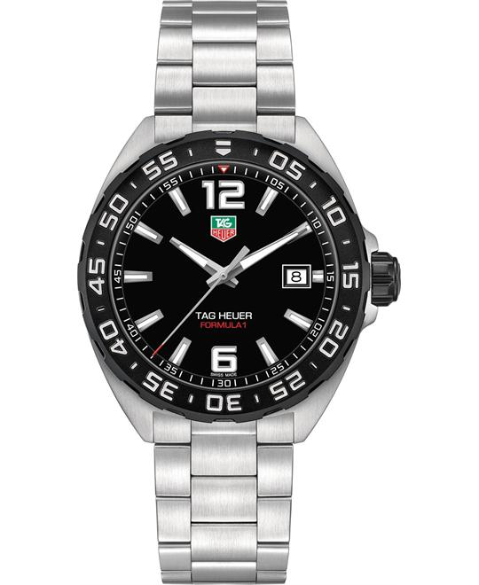 TAG HEUER Formula One Black Dial Men's Watch 41mm