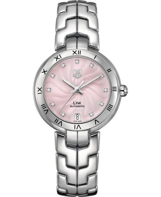 Tag Heuer LINK DIAMOND ROMAN NUMERAL 34.5MM