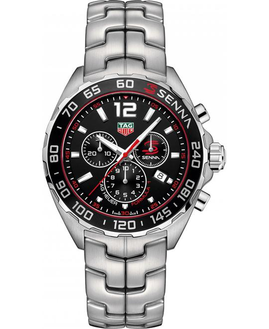 TAG HEUER Senna Chronograph Men's Watch 43mm