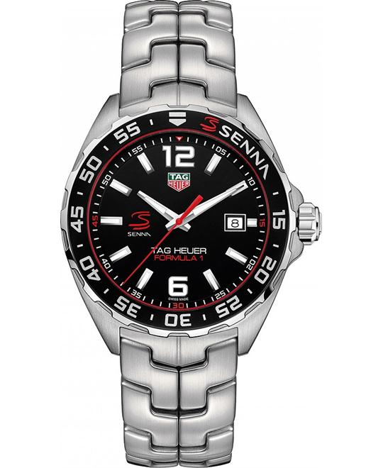 TAG Heuer WAZ1012.BA0883 Senna Watch 43mm