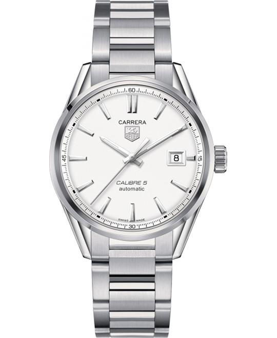 TAG HEUER WAR211B.BA0782 CARRERA Calibre 5 39mm