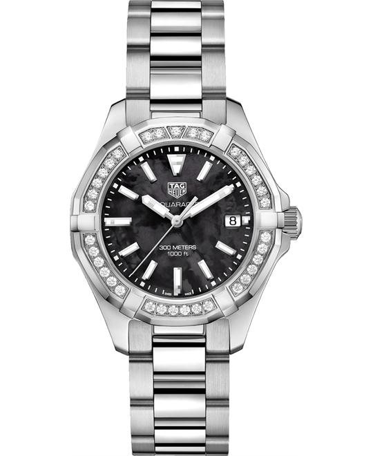 TAG HEUER WAY131P.BA0748 AQUARACER DIAMOND 35MM