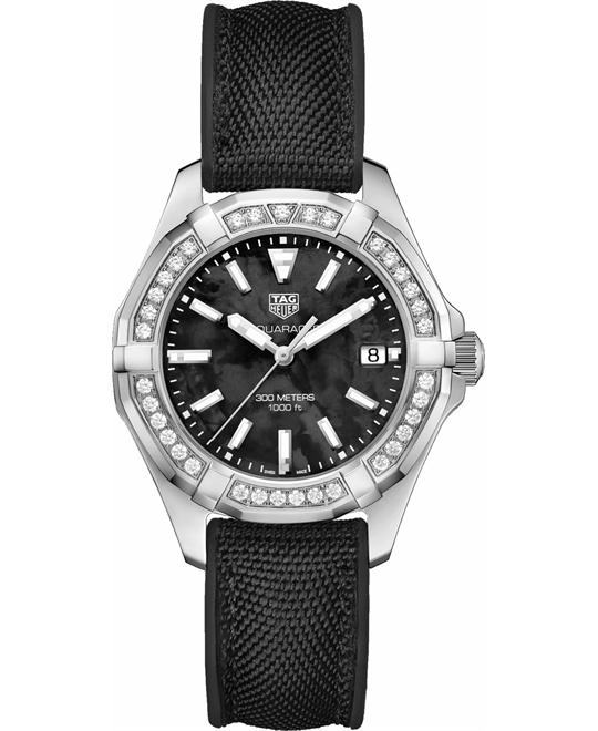 TAG HEUER WAY131P.FT6092 AQUARACER DIAMOND 35MM