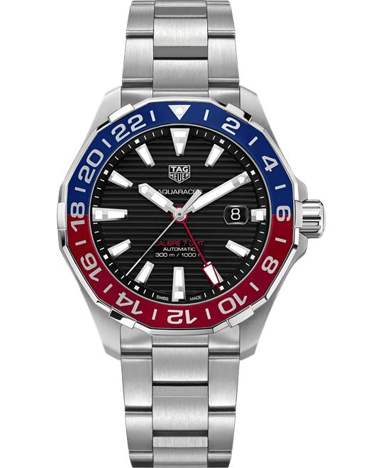 TAG HEUER WAY201F.BA0927 AQUARACER Calibre 7 GMT 43mm