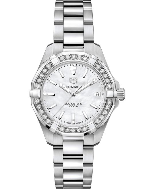 TAG HEUER WBD1313.BA0740 AQUARACER DIAMOND 32MM
