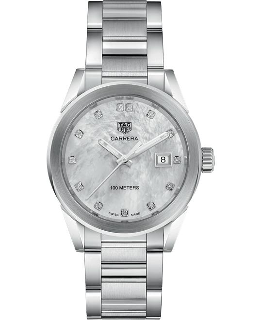 TAG HEUER WBG1312.BA0758 CARRERA DIAMOND 36MM
