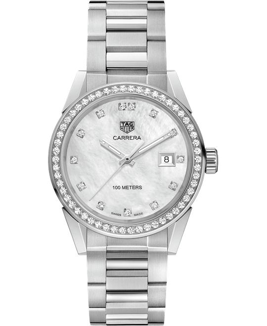 TAG HEUER WBG1315.BA0758 CARRERA DIAMOND 36MM