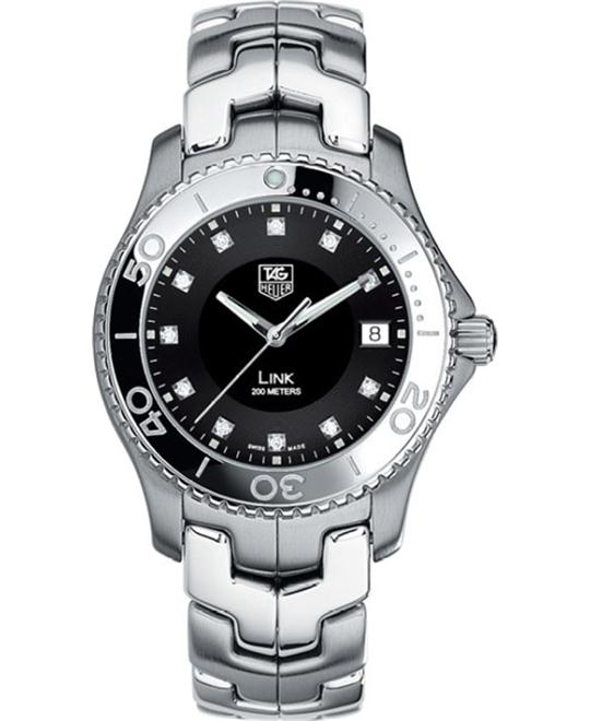 TAG Heuer WJ1113.BA0570 Link Diamond Watch 40mm