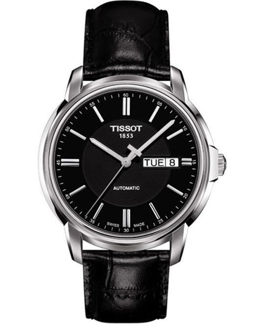 Tissot Automatic III Black Dial Mens Watch 38mm