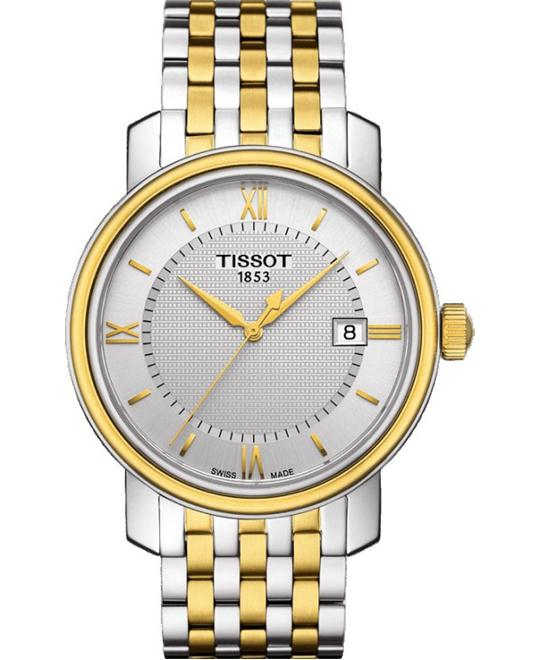 TISSOT Bridgeport  Silver Dial Two-tone Watch 40mm