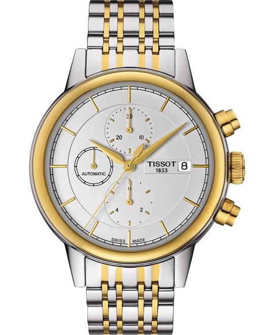 TISSOT Carson Automatic Chronograph Men's Watch 42mm