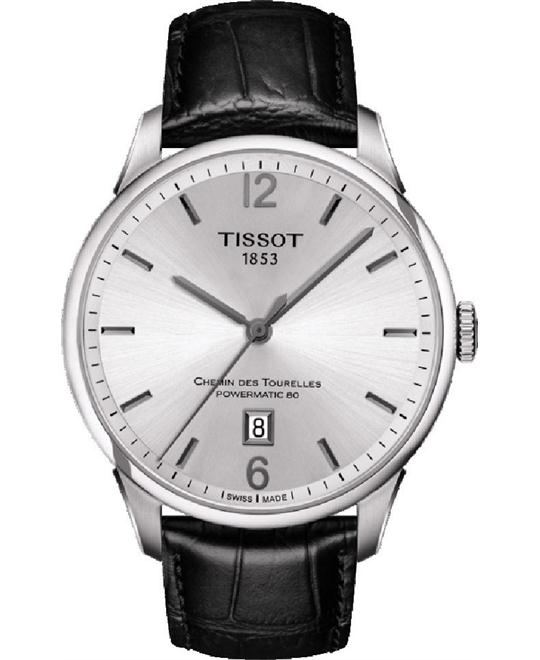 TISSOT CHEMIN DES TOURELLES AUTOMATIC GENT watch 42mm