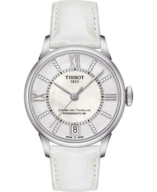 TISSOT Chemin Des Tourelles Automatic Ladies Watch 32mm