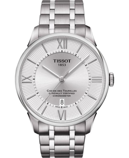 TISSOT Chemin Des Tourelles Automatic Men's Watch 42mm