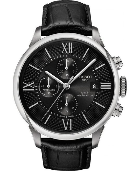 TISSOT CHEMIN DES TOURELLES AUTOMATIC watch 44mm