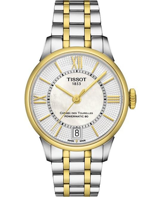TISSOT CHEMIN DES TOURELLES POWERMATIC 80 watch 32mm